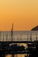 Marina @ sunset (nakedst) Tags: travel sunset sea summer bar port marine seaport montenegro   crnagora      canoneos7d