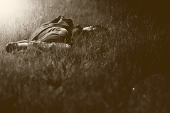 Between Dreams (Alison Breeden) Tags: sleeping monochrome sleepingchild coffeeshopaction