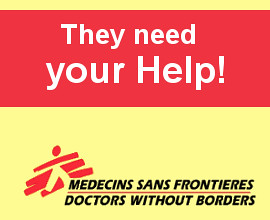 Doctors without Borders banner