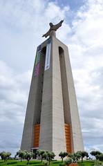Cristo-Rei, Lisboa (powerfocusfotografie) Tags: portugal statue lisboa lisbon henk almada cristorei nikond90 powerfocusfotografie mygearandme