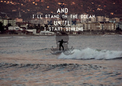 Stand On The Ocean (eran hakim) Tags: ocean dylan water surf underwater earth wave galaxy planet octopus su deniz dalga srf ahtapot capasunta apasunta dalgasrf