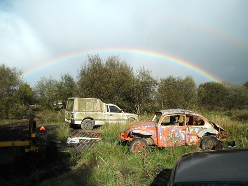 Tata, VW Beetle and Rainbow