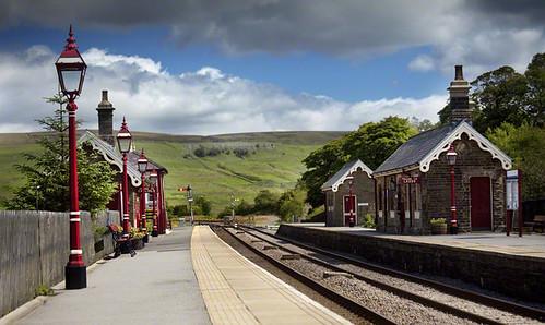 Garsdale Head Station, Cumbria, England.