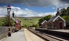 Garsdale Station, Cumbria, England. (2c..) Tags: uk ireland england mountains flickr trains best cumbria signal stations 2c settlecarlisle 5dmk2 lowresolutionpreview 2c