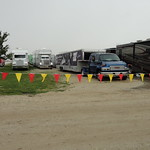 Teams continue arriving on the Eldora grounds Friday afternoon.