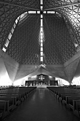 Saint Mary's Cathedral (San Francisco) (I) (manuela.martin) Tags: sanfrancisco blackandwhite bw usa architecture sfo architektur nervi goughstreet belluschi pietrobelluschi pierluiginervi schwarzundweis