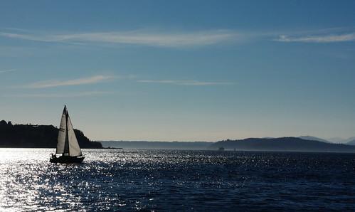 seattle sailboat sailing pugetsound