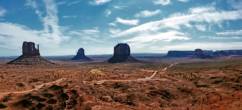 Monument Valley in The View