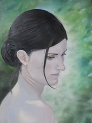 Chiara -Olio su tela- cm 40x60 -2012