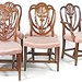 105. Set of (6) Hepplewhite Style Chairs