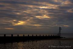 Sheringham Sunset (sweetpete21) Tags: sheringham canon canon60d norfolk northnorfolk seaside sea sunset beach groyne water