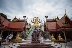 IMG_5180 (PatrickCriollo) Tags: canon tropical island 5dmarkii canon5dmarkii ca teddy sand white blue colors yellow green hdr sky clouds palmtrees palm tree trees swing monk buddha buddhist orange colorful selection wide angle temple golden culture thailand spider web