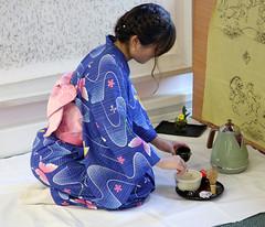 Tea Ceremony, A Taste of Japan, University of Kent (Jim_Higham) Tags: university kent international japanese culture excellent kimono obi tea ceremony students visitors kogakkan ise masters kodamasensei ikedasensei teaceremonymasters