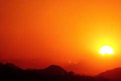 Sunset 6 28 16 #09 (Az Skies Photography) Tags: sun set sunset dusk twilight nightfall cloud clouds sky skyline skyscape scottsdale arizona az scottsdaleaz june 28 2016 june282016 62816 6282016 orange yellow gold golden salmon black