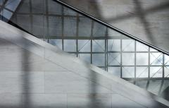 Hidden Stairs (thewhitewolf72) Tags: treppe stufen gelnder spiegelung fenster museum schatten muster struktur