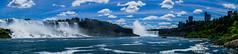 Niagara Fall Panorama (Deniz Kilicci) Tags: americanfalls newyorkstate hornblower usfalls usa mist outdoor river riverside water falls selp18105g toronto canada niagarafalls panorama sony a6000 ontario niagara us