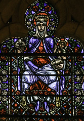 Our Lady with Roses (Lawrence OP) Tags: cathedral grace sanfrancisco charlesconnick stainedglass windows blessedvirginmary jesuschrist ourlady