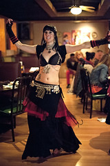 Anya Zofia at the Med Hookah - 11 14 15 (Drumdude Bill) Tags: nikond700 nikkor50mmf14g beautiful bellydance anyazofia mediterraneanhookahloungeandcafe madisonwisconsin doumtekphotography