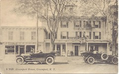 Two Touring Cars & The Greenport House (ilgunmkr - Thanks for 4,000,000+ Views) Tags: rppc realphotopostcard touringcar 1910s newyork greenportnewyork greenporthouse vintagevehicle vintageauto antiqueautomobile