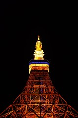 Tokyo Tower (Thomas T. H. Chan) Tags: tokyotower tokyo japan ricoh gr 28mm night scenery light