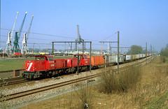 NS 6518 @ Antwerpen (Peter Van Gestel) Tags: lijn27a antwerpen haven port antwerp ns cargo lijn ligne 27 a