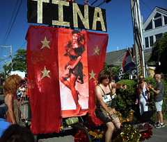 Carnival Parade, Provincetown MA (Boston Runner) Tags: carnival parade provincetown massachusetts 2016 costume backtothe80s tinaturner drag tricycle