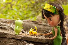 223/365 (bad_juju2) Tags: 365blythe olive cb ebl skipper funnybunny jeero uglydoll pikachu pokémongo