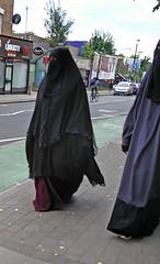 North London Eid sisters today (Aisha Niqabi) Tags: niqab khimar