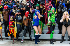SP_49690 (Patcave) Tags: dragon con dragoncon 2016 dragoncon2016 dc universe cosplay cosplayer cosplayers costume costumers costumes villains villain group shot shoot comics comic book comicbook