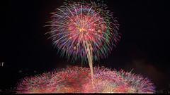 Finale (peaceful-jp-scenery) Tags: fireworks display summer autumn festival starmine lakesuwa suwako         sony 99 a99 slta99v amount sal70300g2 70300mmf4556gssmii