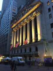 NYSE in yellow (Denis Gobo) Tags: nyse newyorkcity newyork financialdistrict manhattan wallstreet