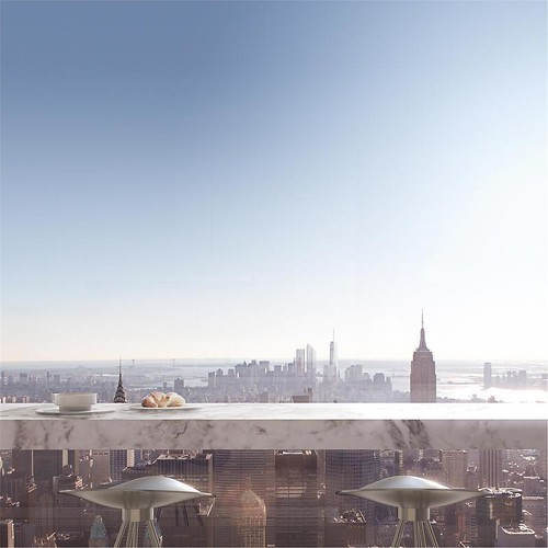 Самый высокий пентхаус мира в башне 432 Park Avenue