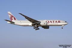 A7-BFD LMML 29-07-2016 (Burmarrad) Tags: airline qatar airways cargo aircraft boeing 777fdz registration a7bfd cn 41427 lmml 29072016