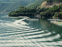 WAVES - DSCF2794 (Chris Maroulakis) Tags: igoumenitsa western greece thesprotia waves sea boat fujifilm x30 chris maroulakis 2016
