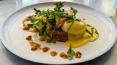 eggs benny with smoked salmon (SqueakyMarmot) Tags: travel asia indonesia bali 2016 seminyak sisterfields restaurant eggsbenedict smokedsalmon