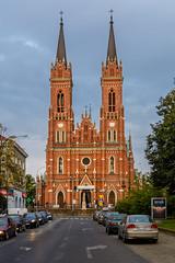 Lodz-9 (Alex Ignatov) Tags: europe lodz poland architecture building city cityscape cloud sky streetphotography lodzvoivodeship pl catholic church cathedral