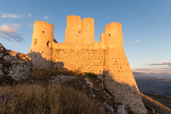 Rocca Calascio, Lady Hawk Fortress, in Abruzzo, L'Aquila, Italy (andrea_luciani) Tags: europe abruzzo age ancient antique apennines aquila architecture background beautiful calascio castle church clouds european famous fortress hawk historic history holiday italian italy lady land landscape medieval middle mountain mountains national nature old outdoor panorama park place rocca rock sky stone tourism tower travel view