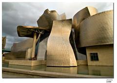 Guggenheim (photophop) Tags: art museum architecture spain bilbao architektur guggenheim titan euskadi spanien baskenland frankogehry