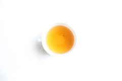 Oolong (mpieracci) Tags: brown color cup yellow circle tea canvas round tabletop oolong