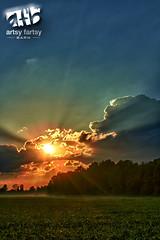 soybeanfield_01 (Photographer Artist) Tags: sunset clouds barn canon beans farm indiana