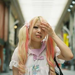 (bobby stokes) Tags: street portrait 120 mamiya film mediumformat osu analogue piercings mamiyac330 c330 fujipro400