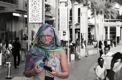 Veiled . (adil 555) Tags: street people 50mm nikon dubai uae 50mmstreet