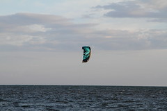 Blue (Bemijoca) Tags: sky water evening wind surfer canoneos7d