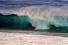 The wave... (jendayee) Tags: blue sea green nature reunion island wave flickraward flickraward5 flickrtravelaward