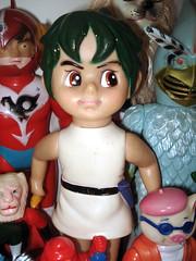 Triton (kopponigen) Tags: sea japan vintage toy action no vinyl figure umi triton kaiju nakajima juguete toriton sofubi