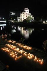 IPPNW vigil in Hiroshima