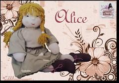 Alice - 113 - (Luciana Dollsmaker) Tags: doll arte bambini rag serie ragdoll bambole gioco giocattoli hobbie stoffe artigianato cucito infanzia bamboledipezza bamboline hobbistica lavorifattiamano lucianadollsmaker