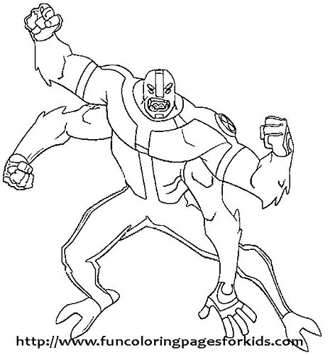 Ben 10 Coloring Game - a photo on Flickriver