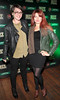 Sabrina Sheehan and Mimi Bunting at the Jameson Launch Party for the Hot Press Yearbook 2012 at The Workman's Club,Dublin..Picture Brian McEvoy