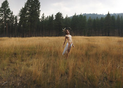 Satyr (Brad.Wagner) Tags: trees white mountain field forest pose painting haze horns classical cloth renaissance faun saytr bradwagner iamproudofthefacethaticanspellrenaissancecorrectlyonthefirsttry nowijustneedtobeunrealisticallymuscularyetsomehowchubbyandicouldmaketheperfectrenaissancepaintingphoto